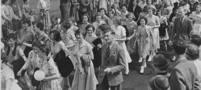 Dunfermline High School pupils
